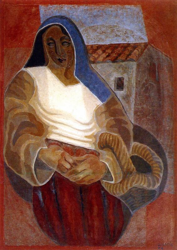 Хуан Грис. Крестьянка
