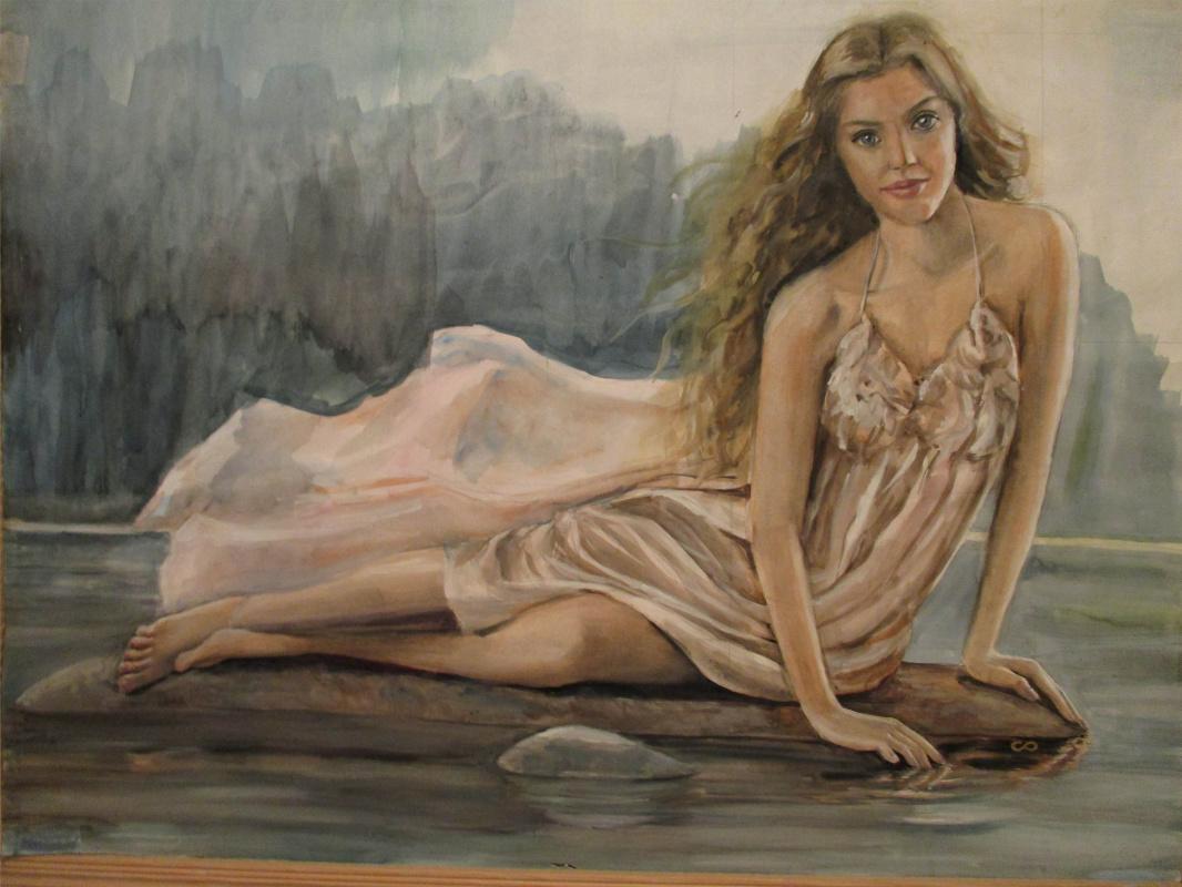 Olga Suncheleeva. Portrait of a girl