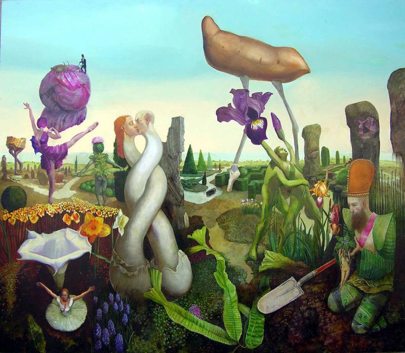 "Henryk Michael Fantazos. ""Hortus Mirabilis"""
