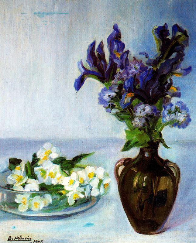 Бенджамин Паленсия. Две вазы с цветами