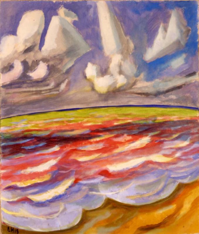 Эрих Хеккель. Тень от облака