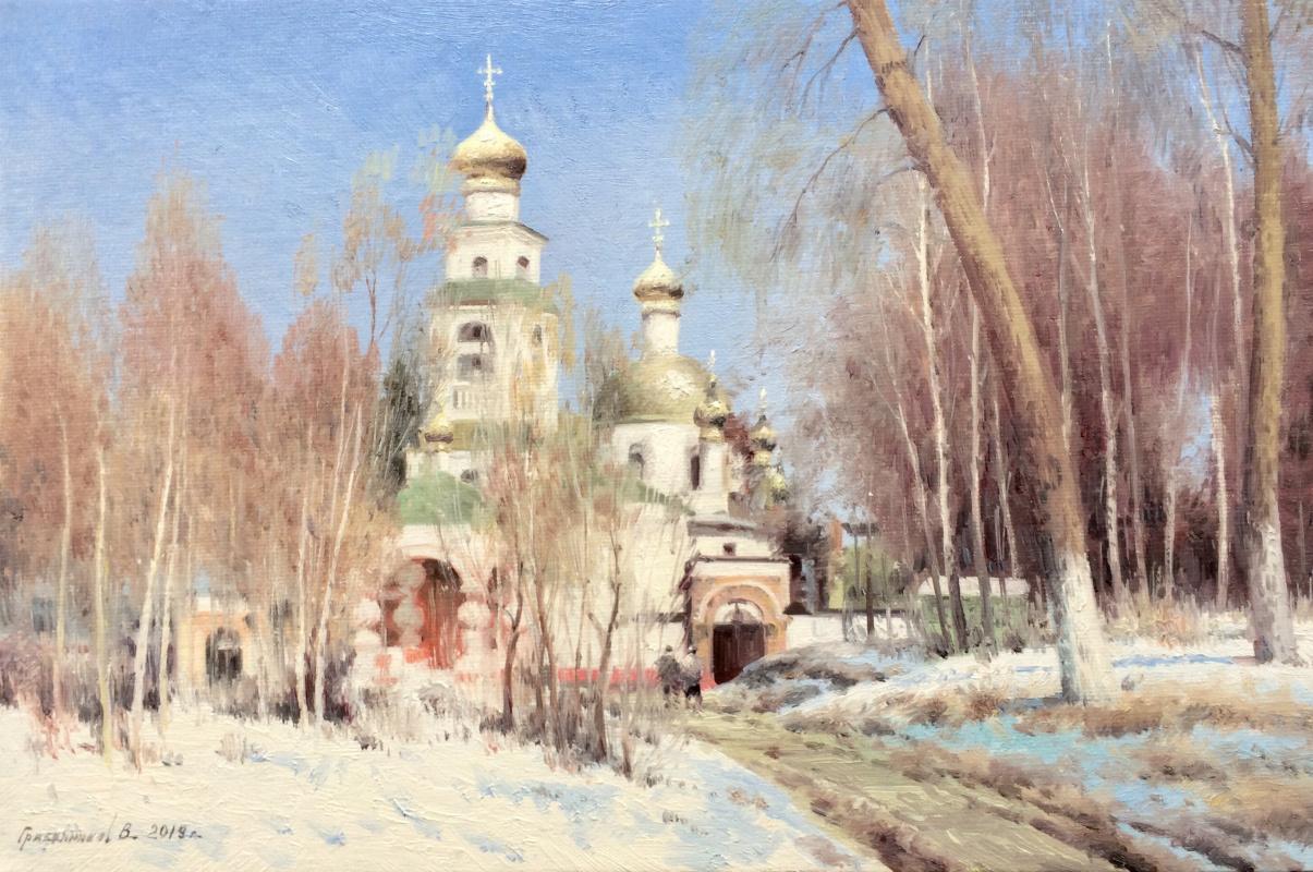 Vasily Ivanovich Gribennikov. Church in Peredelkino