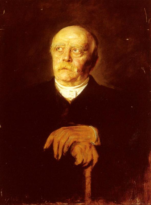 Франц фон Ленбаха. Портрет Отто Бисмарка Ферста