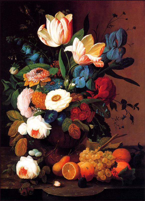 Северин Розен. Цветы и фрукты