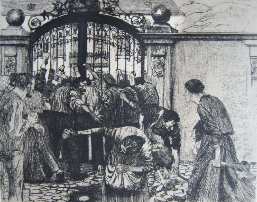 Käthe Kollwitz. The rebellion