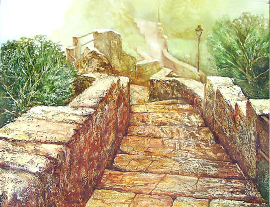 Vadim Ignatenko. Stairs