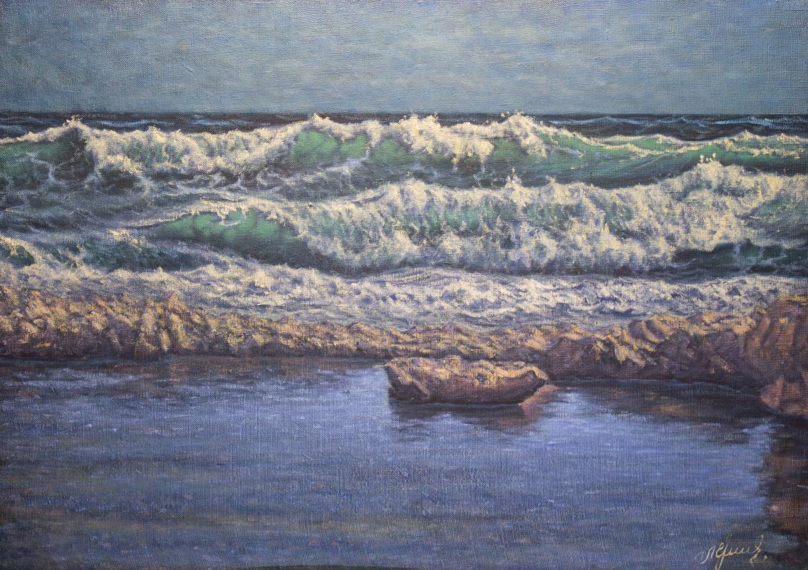 Valery Levchenko. No. 482 Seascape.