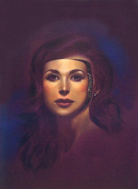 Иосиф Де Вито. Портрет девушки