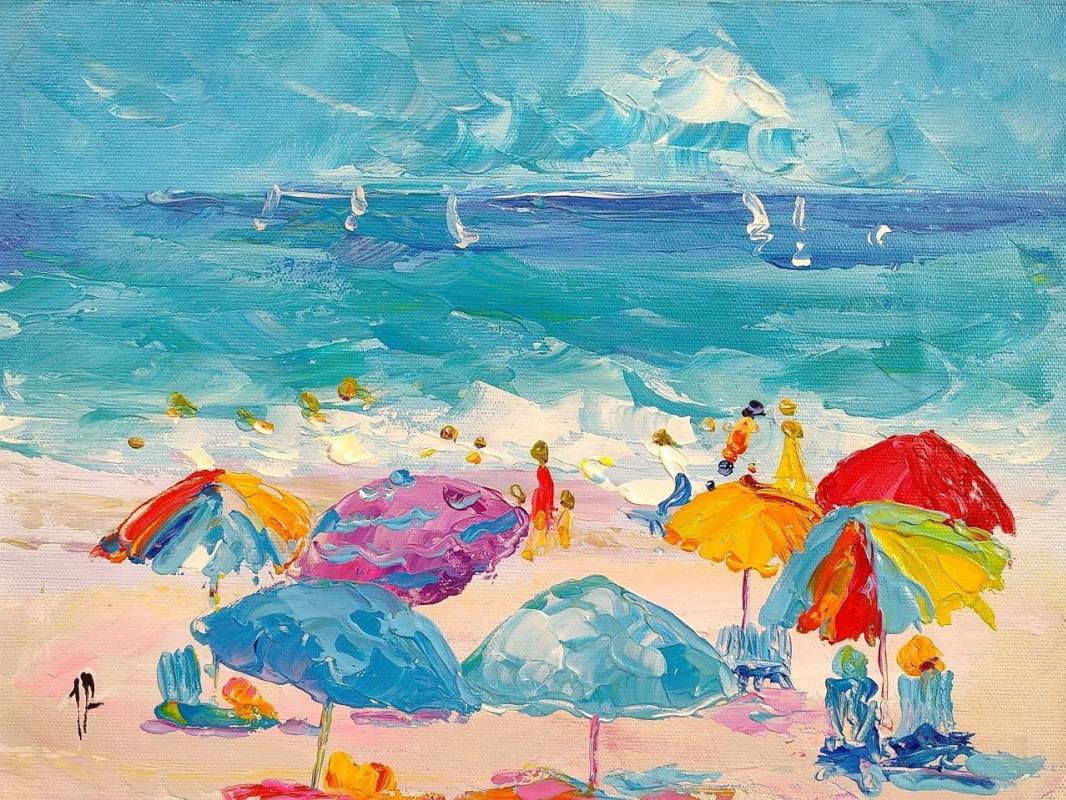 Jose Rodriguez. Summer stories. Multi-colored umbrellas N3