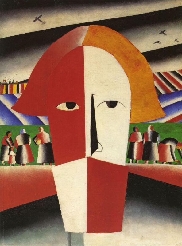 Kazimir Malevich. Head of the peasant