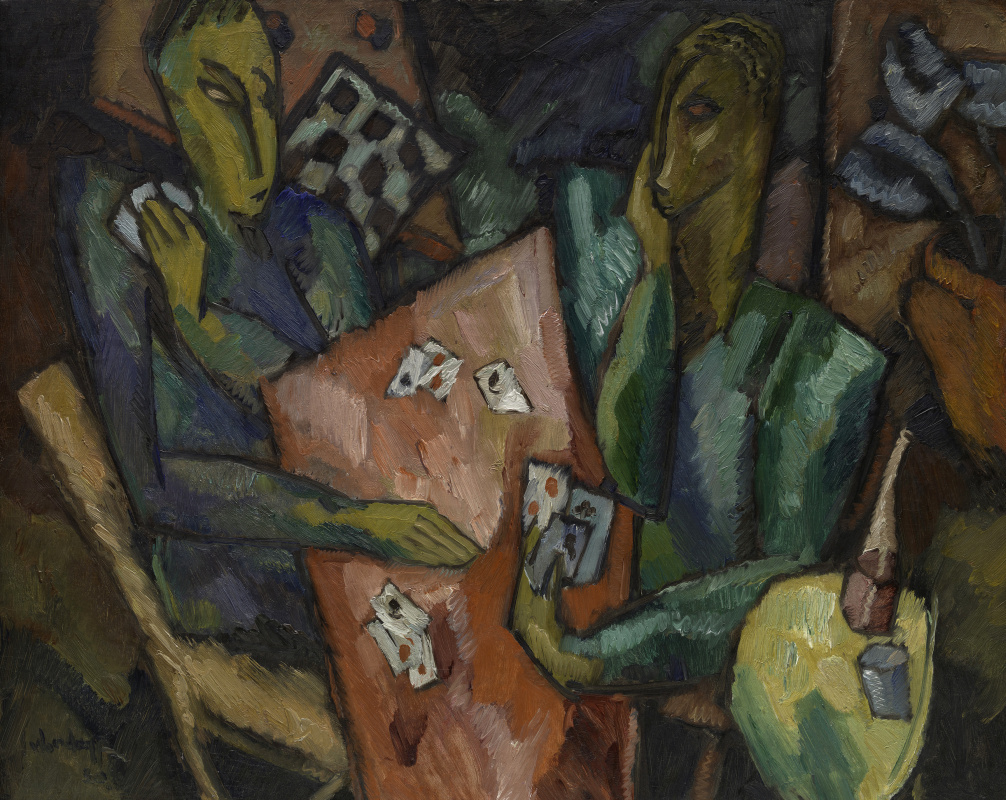 Hale Aspasio Woodruff. Players in cards