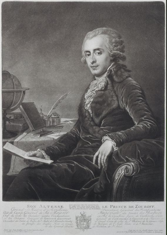 Портрет князя Платона Александровича Зубова