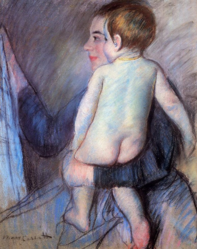 Mary Cassatte. Window