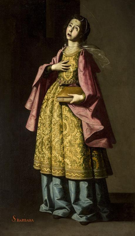 Франсиско де Сурбаран. Святая Барбара