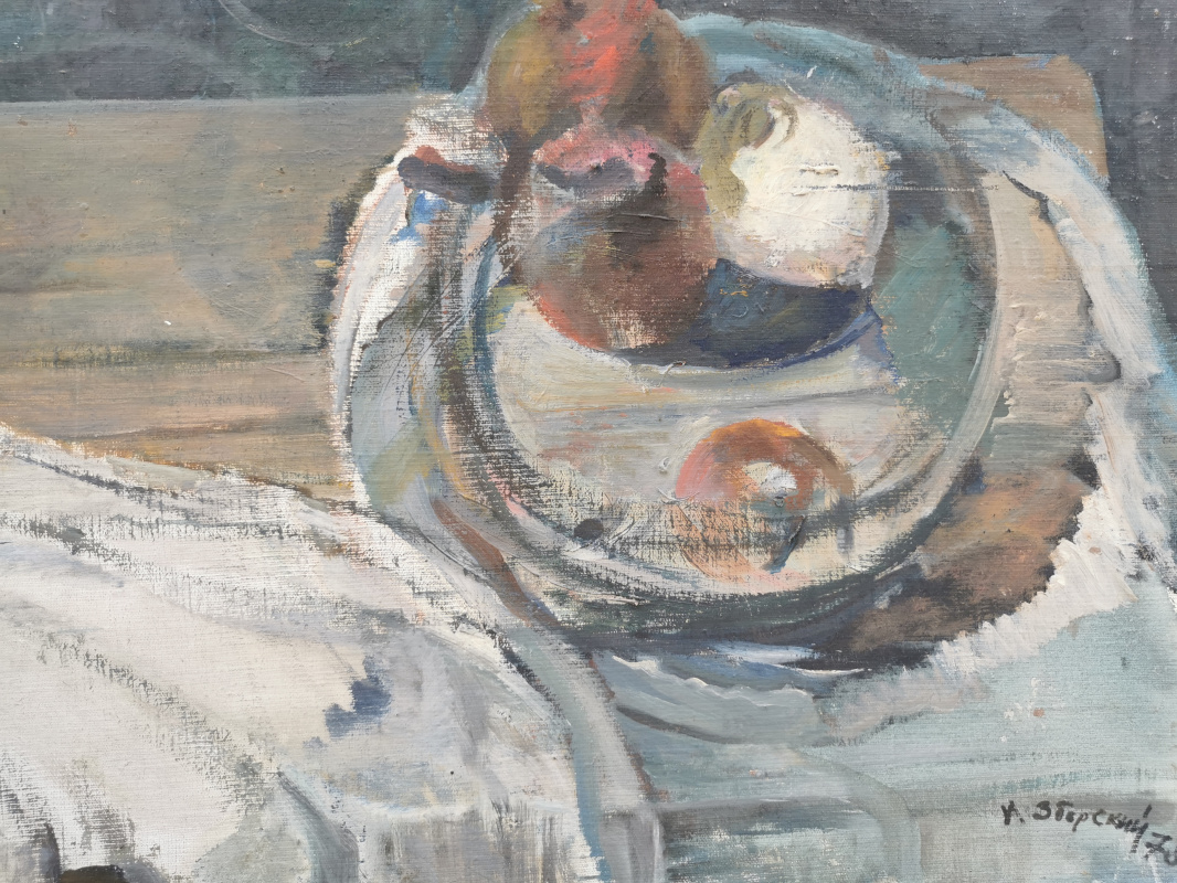 I. Zborsky. Still life without tablecloth