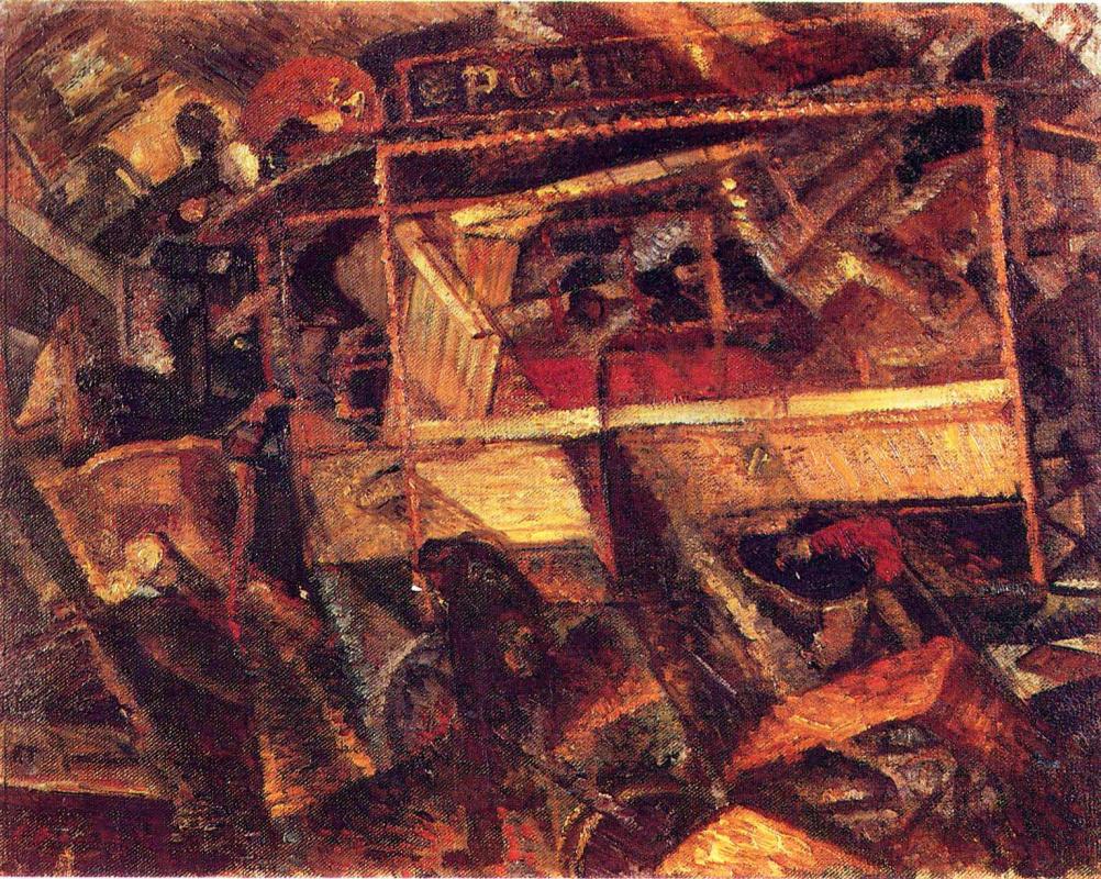Карло Карра. Трамвай