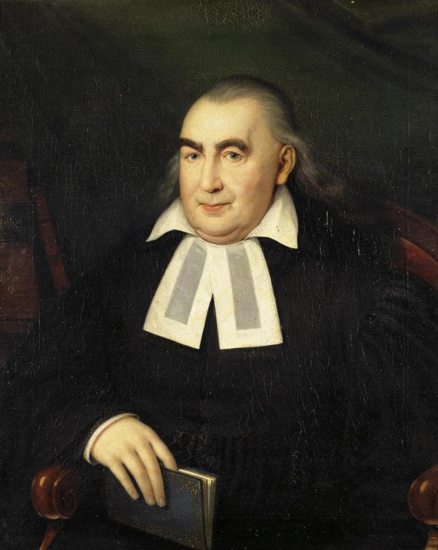 Иоганн Баптист Лампи (старший). Портрет пастора