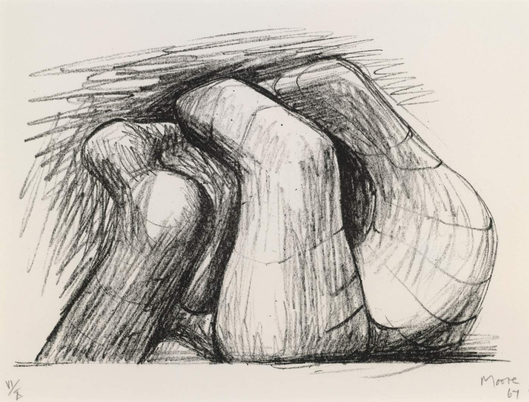 Генри Спенсер Мур. Две формы