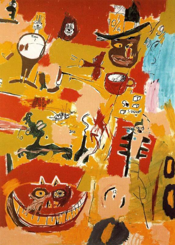 Jean-Michel Basquiat. The Wine Of Babylon