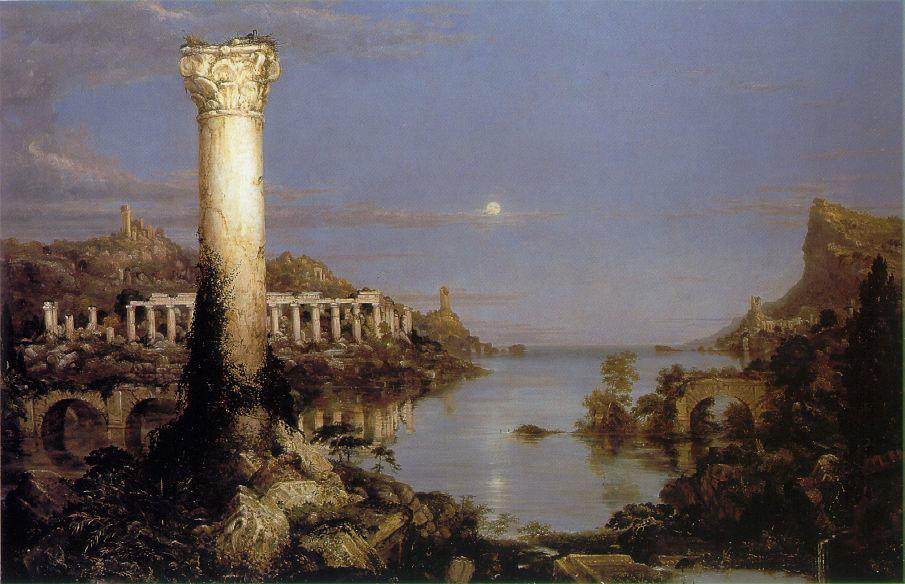 Thomas Cole. Empire of desolation