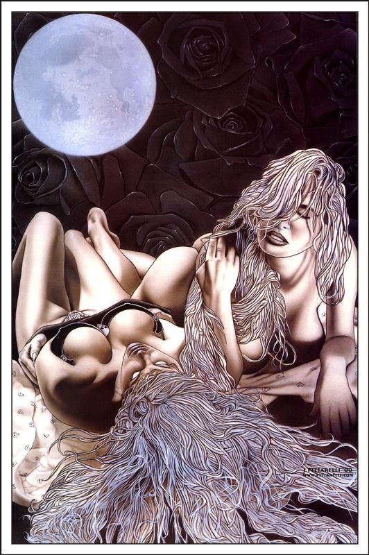 Стивен Хьюз. Полная луна