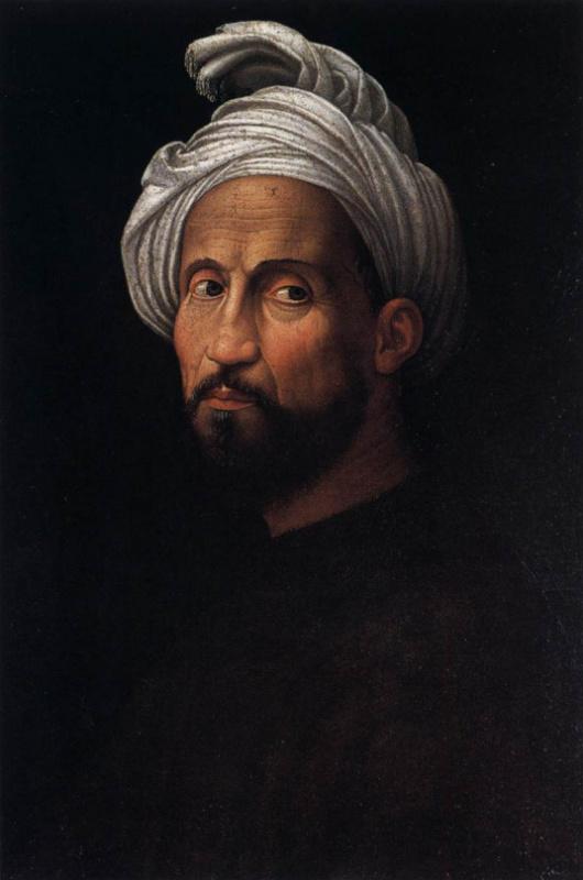 Джулиано Буджардини. Портрет Микеланджело в тюрбане