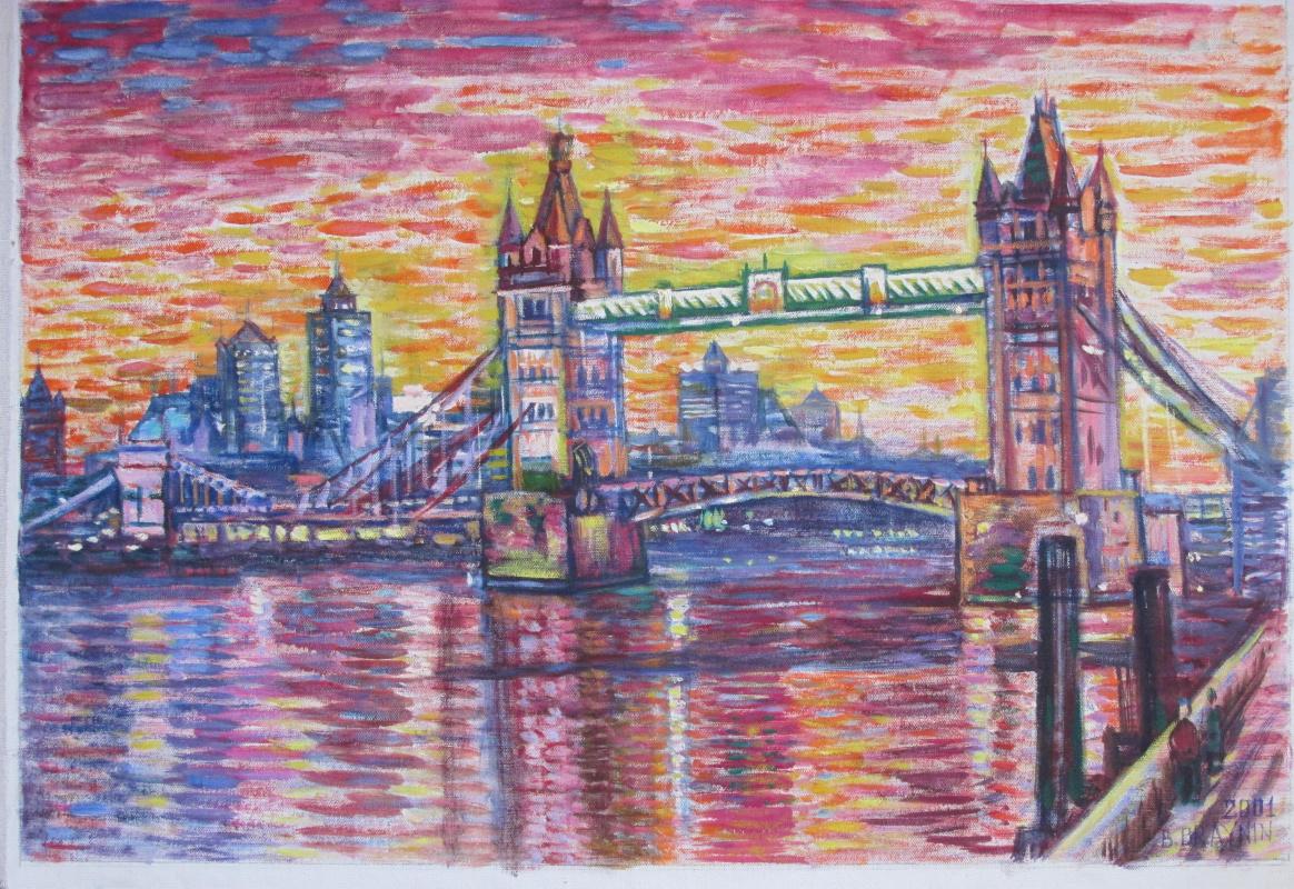 Boris Braynin. London bridge