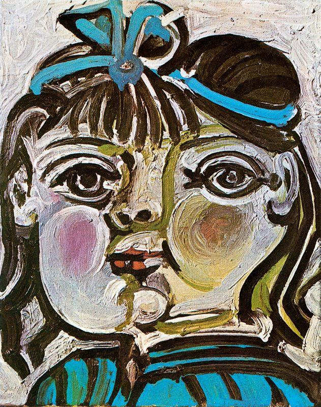 Пабло Пикассо. Портрет Паломы