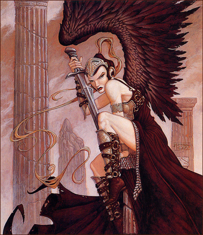 Мэтью Уилсон. Черный ангел