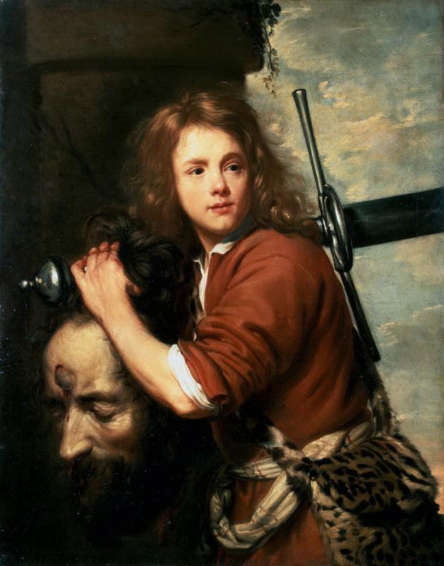 Якоб ван Ост Старший. Давид с головой Голиафа