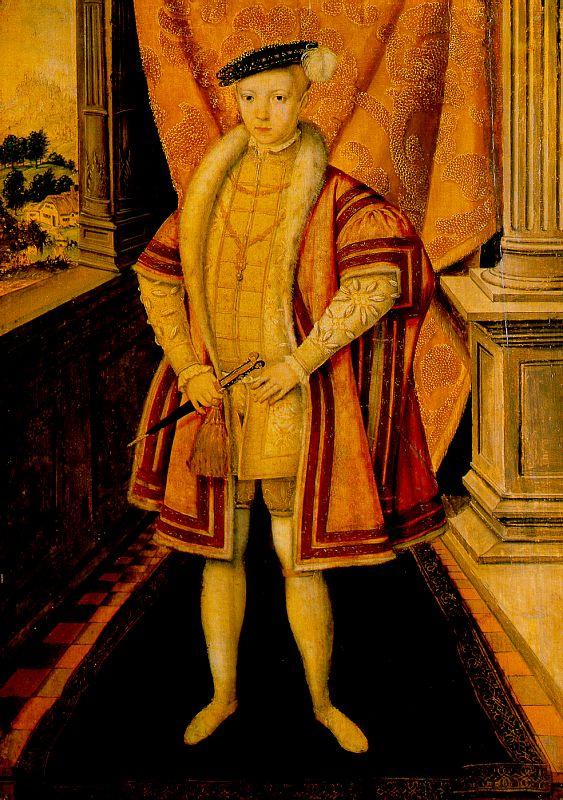 Ханс Эворт. Портрет короля Эдуарда VI