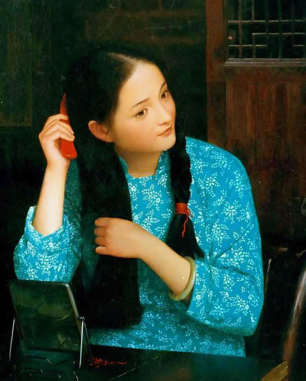 Хан-Ву Шен. Девушка с длинными волосами