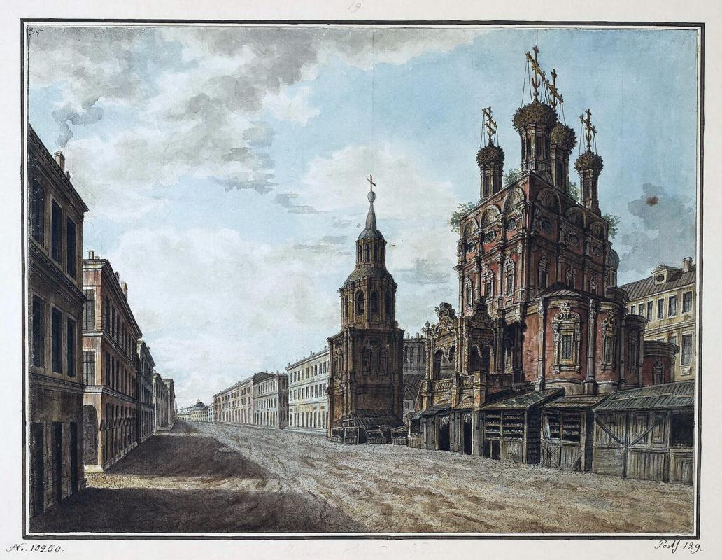 Федор Яковлевич Алексеев. Вид церкви