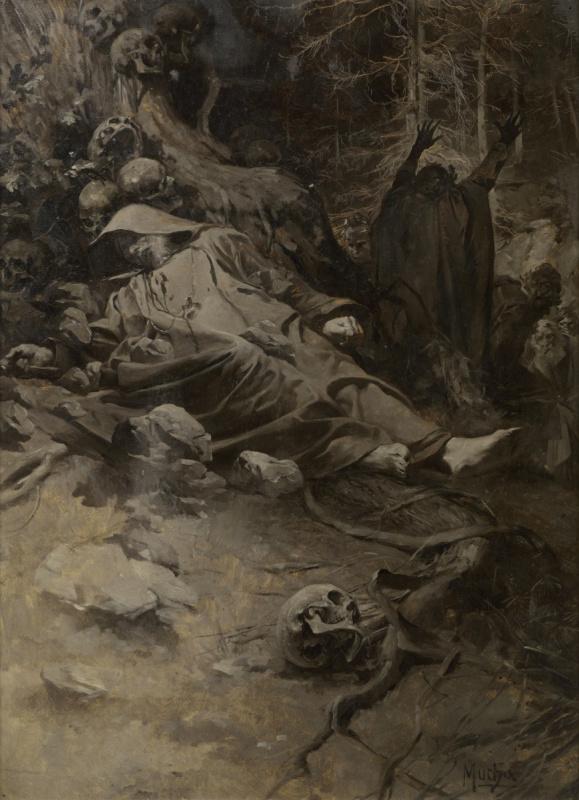 Альфонс Муха. Гора Св. Адальберта