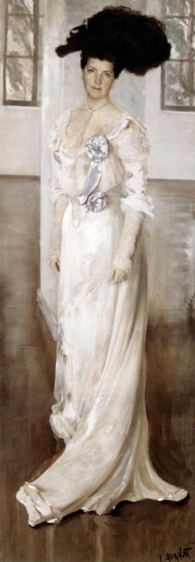 Лев Самойлович Бакст (Леон Бакст). Портрет графини Келлер