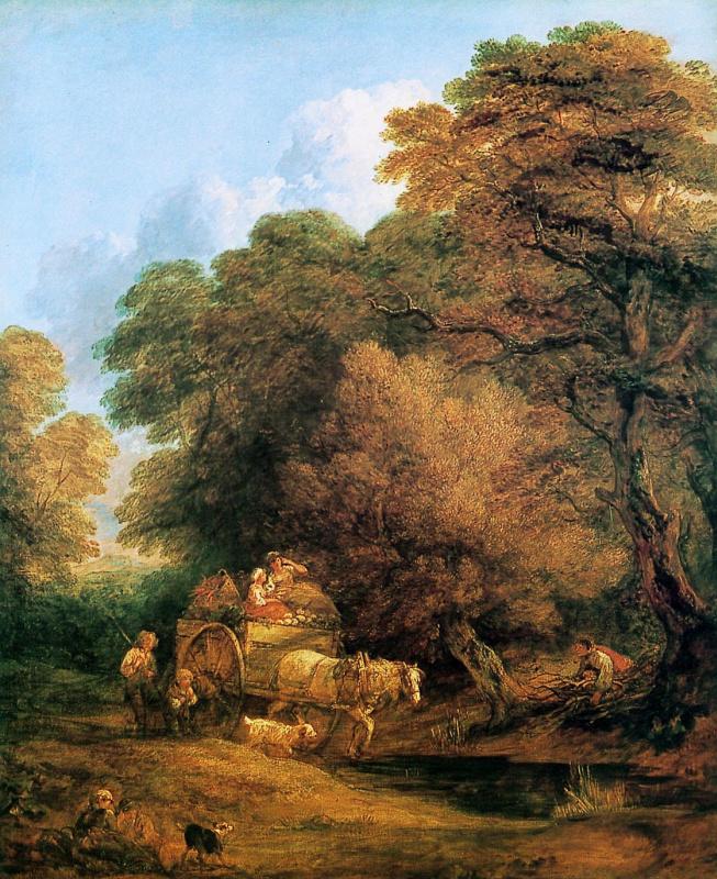 Thomas Gainsborough. A trip to the market