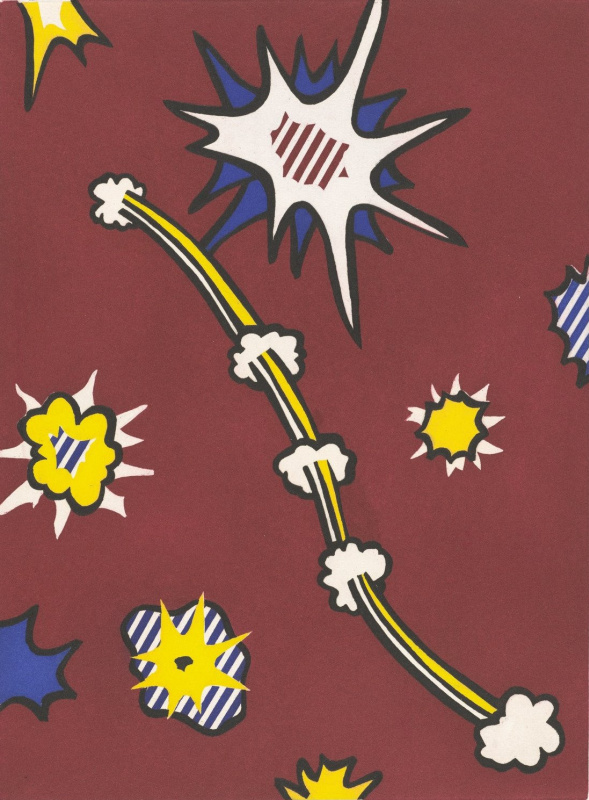 Roy Liechtenstein. New fall of America. Sheet 105