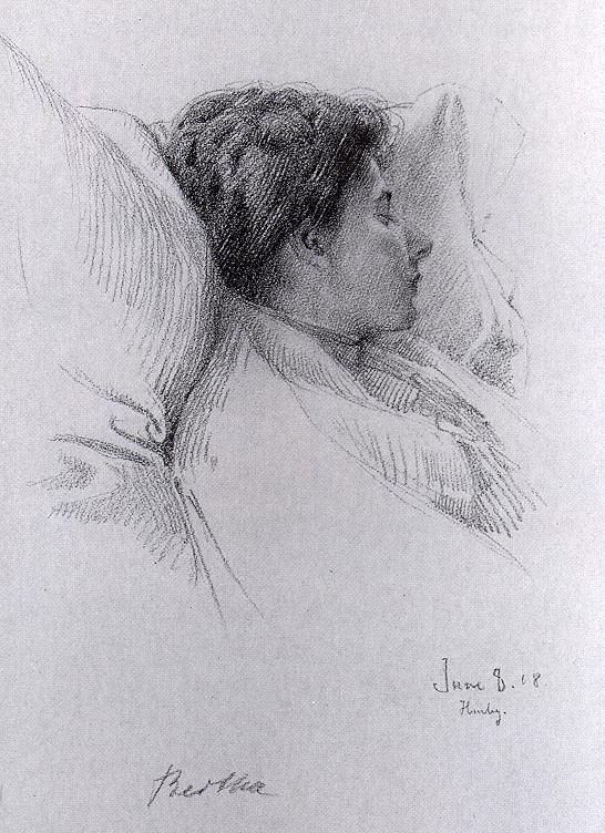 Бернард Гутман. Спящая женщина