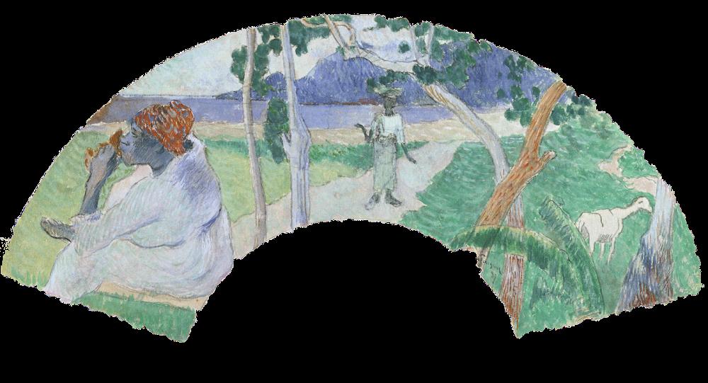 Paul Gauguin. Scene of Martinique