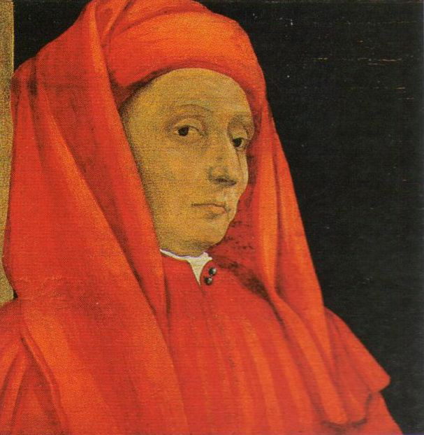 """Paolo Uccello. Portrait of Giotto. Detail of the painting """"The Five Founders of Florentine Art"""""""