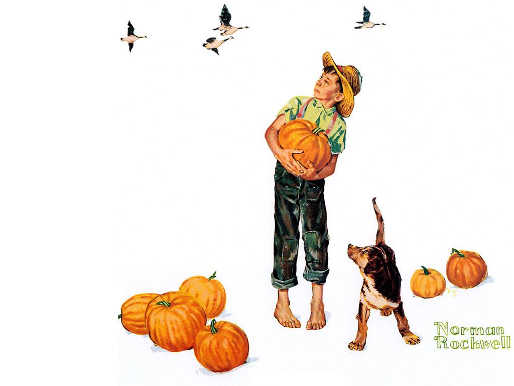 Норман Роквелл. Осень