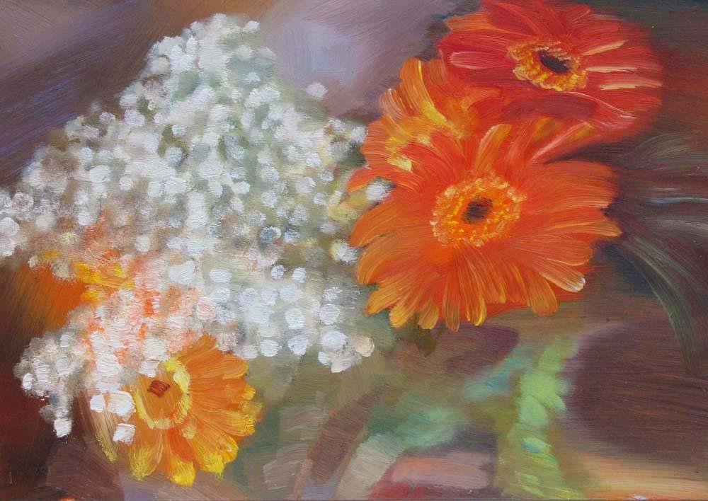 Alexander Ivanovich Vlasyuk. Bouquet