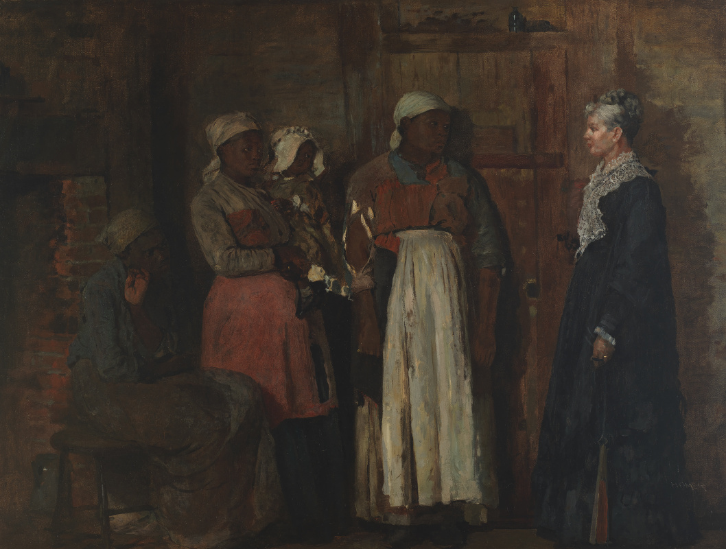 The visit of the old lady