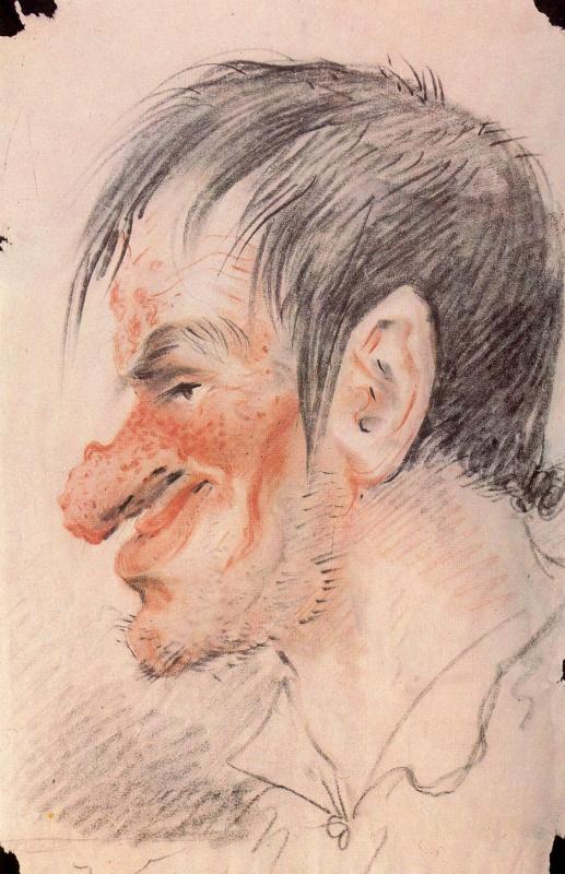 Alexander Osipovich Orel. Cartoon