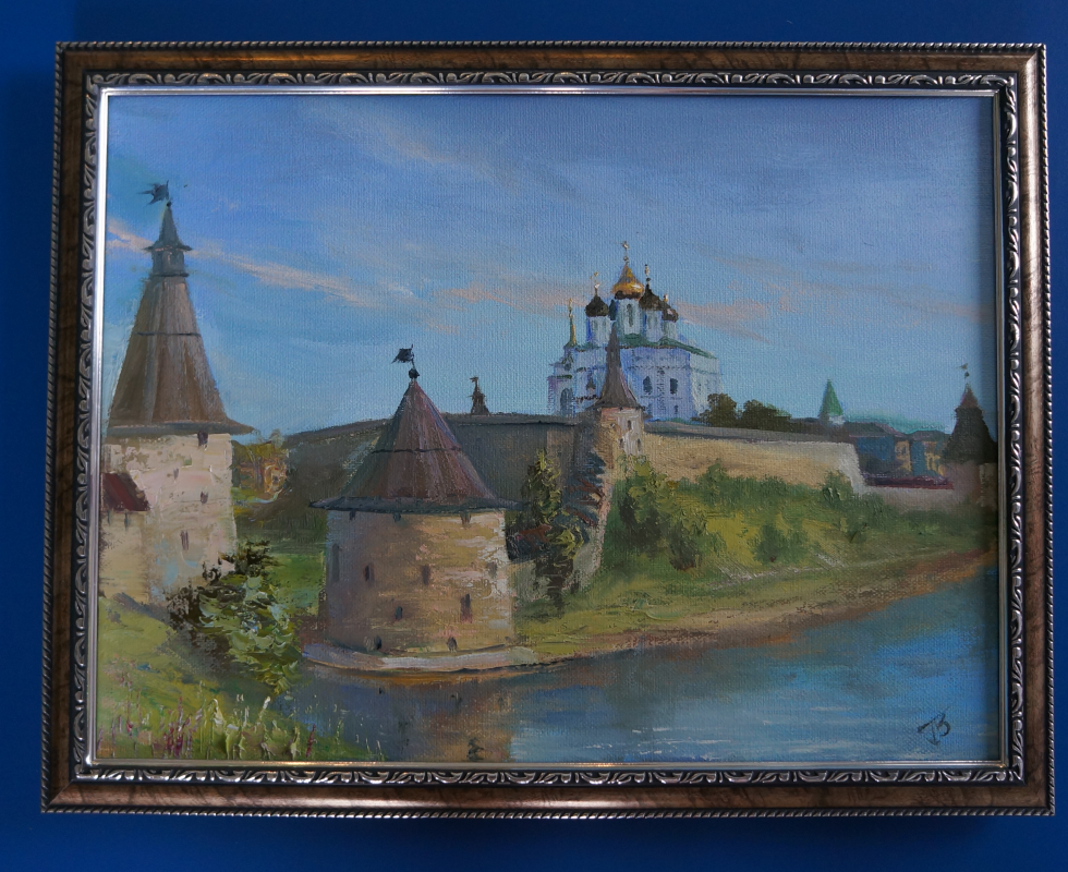Unknown artist. Pskov Kremlin