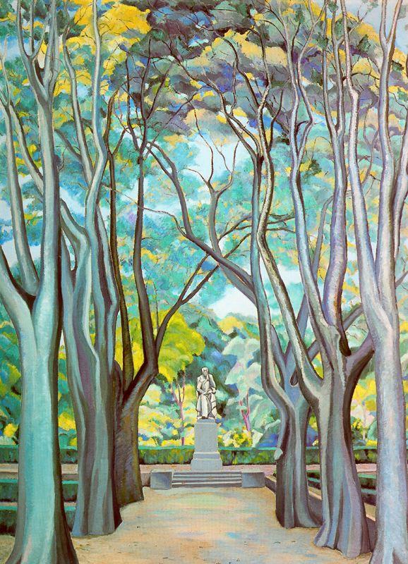 Рафаэль Ботэ. Среди деревьев