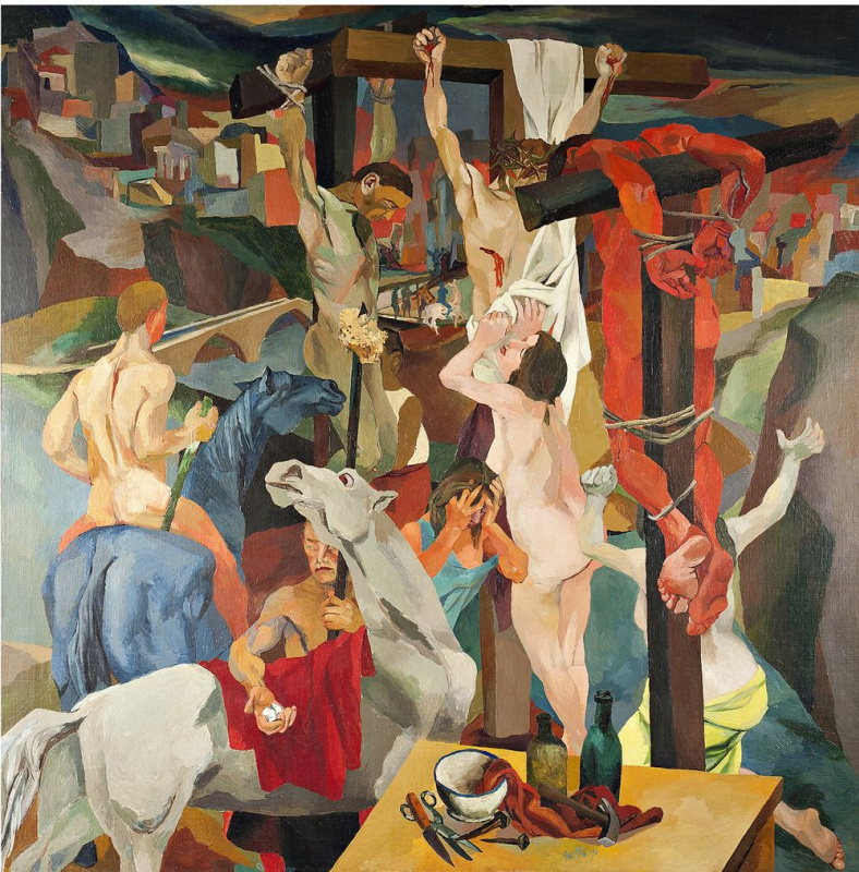 Renato Guttuso. The crucifixion
