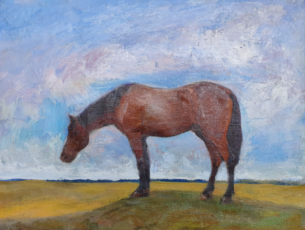 Victor Grigorievich Puzyrkov. Horse