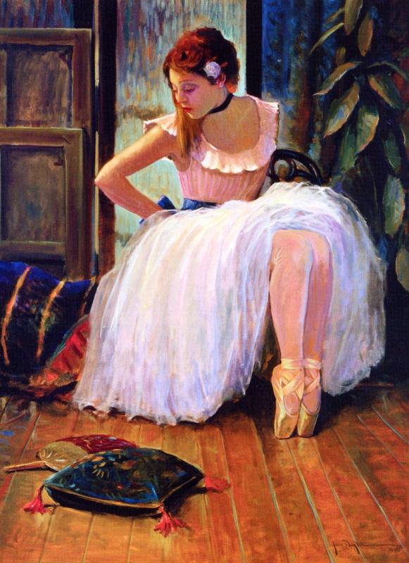 Джон Кэрролл Дойл. Белое платье