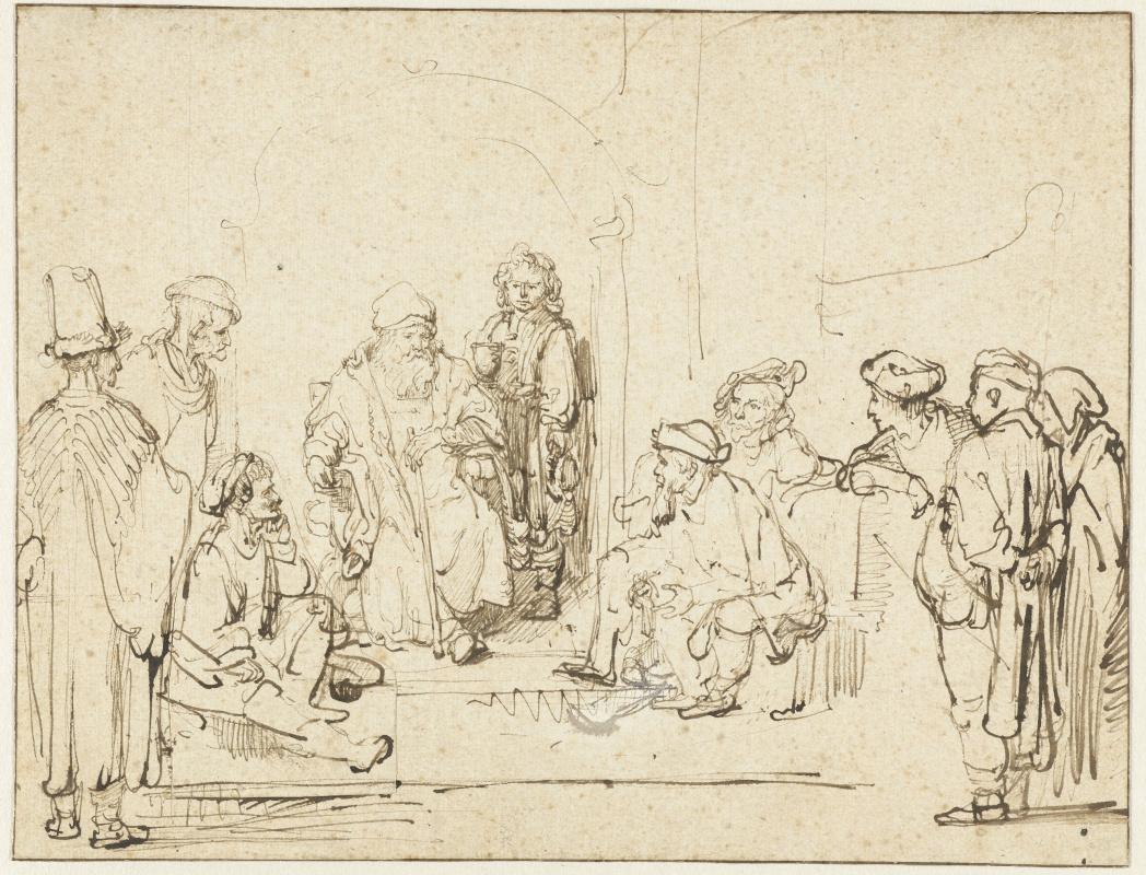 Рембрандт Харменс ван Рейн. Иаков и сыновья
